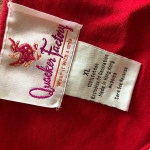 Quacker Factory Tops - Quacker Factory XL Sequin Sunflower Tunic Shirt